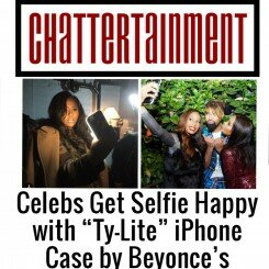 "Celebs Get Selfie Happy with ""Ty-Lite"" iPhone Case by Beyonce's Stylist Ty Hunter"