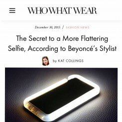 The Secret to a More Flattering Selfie…